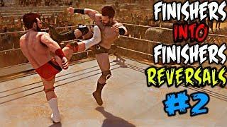 WWE 2K20 Finisher Into Finishers Reversals Part 2! Top 10