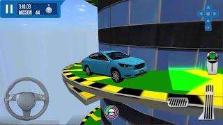 City Driver: Roof Parking Challenge #2 - Impossible Tracks Parking Game Android iOS gameplay