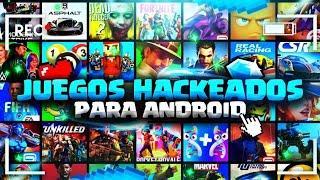 NUEVO! TOP 70 MEJORES JUEGOS HACKEADOS para Android | Descargas Mediafire | Actualizados Mayo 2020