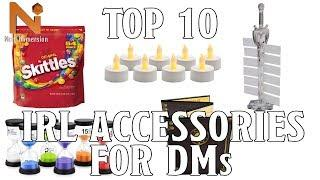 Top 10 Accessories for DMs | Nerd Immersion