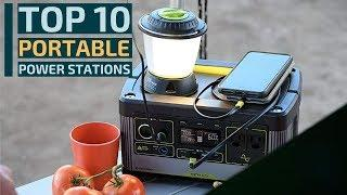 Top 10: Best Portable Power Stations for 2020 / Emergency Battery Backup / Portable Solar Generator