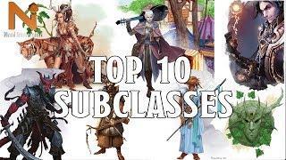 Top 10 D&D 5e Subclasses | Nerd Immersion