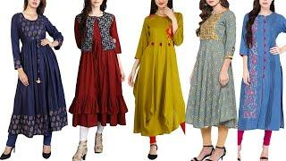 New Fashion kurti Designs || Daily Wear kurti for college/office || Cheapast Rate Kurtis