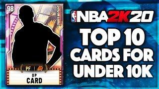 TOP 10 OVERPOWERED PLAYERS That You Can Buy For LESS THAN 10K MT IN NBA 2K20 MYTEAM!!