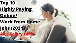 TOP 10 HIGH PAYING ONLINE JOBS | TO0 10 WORK FROM HOME JOBS | MAKE MONEY ONLINE | JK CIVIL ENGINEER