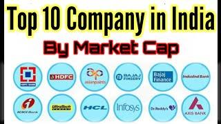 TOP 10 COMPANY IN INDIA BY MARKET CAP | INDIAN STOCK MARKET | SUBHAJIT DAS