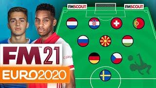 Top 10 Euro 2020 Wonderkids to Watch according to Football Manager // Euro 2021 Players To Watch