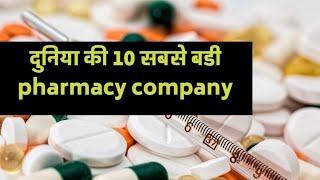 top 10 pharmacy company in the world   दुनिया की दस बडी pharmacy company