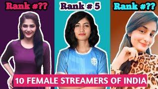 Top 10 Pubg Girls | Best Female Streamer In India 2020 | Pubg Mobile Player