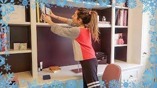 MY HOME OFFICE TRANSFORMATION ~ Vlogmas | Amelia Liana