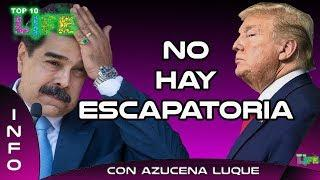 Nicolás Maduro no tiene escapatoria