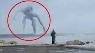 Top 10 Giant Mysterious Things Caught On Camera