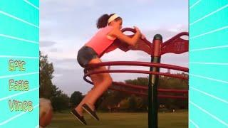Try Not To Laugh - Funny Videos: Funny Fails Activities At The Park - Woa Videos Complation