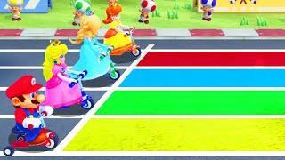Super Mario Party - Minigames - Mario vs Peach vs Daisy vs Rosalina (Master CPU)