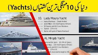 Word's Top 10 Expensive Yachts | Top 10 Expensive Yachts in the Word | Random Stories