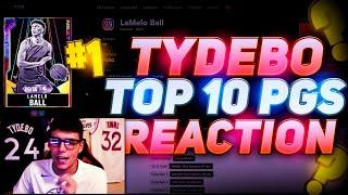 REACTING TO TYDEBO RANKING THE TOP 10 POINT GUARDS IN NBA 2K20 MYTEAM! DO YOU AGREE?