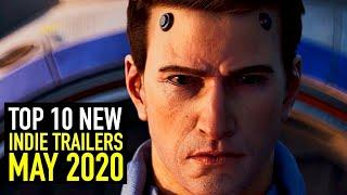 Top 10 Indie Game Trailers This May 2020 - Part 1