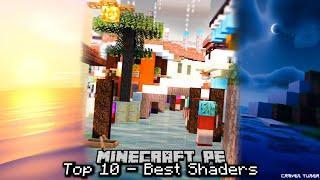 Top 10 Minecraft PE Shaders - 2020 [Best MCPE Shaders]
