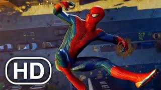 Peter Crafts The Amazing Spider-Man Suit Scene 4K ULTRA HD - Spider-Man Remastered PS5