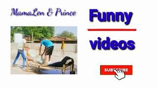 New top funny videos 2020/funny videos compilation/MamaLen & Prince