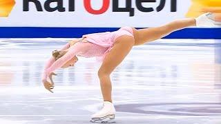 10 BEAUTIFUL MOMENTS IN LADIES FIGURE SKATING 2020