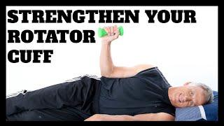 Top 3 Strengthening Exercises for Your Rotator Cuff Muscles (No Equipment-Very Simple)