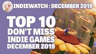 """Indiewatch: Top 10 """"Don't Miss"""" Indie Games of December 2019"""