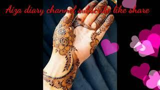 Top 10 Mehndi Design collections For Backhand 2020 | Front or back hand top mehndi design latest meh