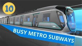 Busiest Metro Subways 2020 | Top 10 Metro Systems In The World