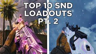 Top 10 SND Loadouts Cod Mobile Part 2 (Season 3)