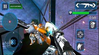 Counter Terrorist Robot Shooting Game:FPS Shooter - Android GamePlay - FPS Shooting Games Android #6