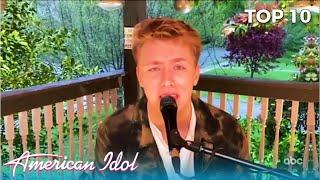 Louis Knight: The American Voters Embrace This British Talent | American Idol Top 10