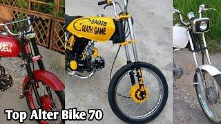 Top Full Alter Honda 70cc Bike Lovers | Alter Bike | Modified Bike | Change World
