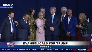 PRAY FOR TRUMP: Faith Leaders Pray For President Trump And America