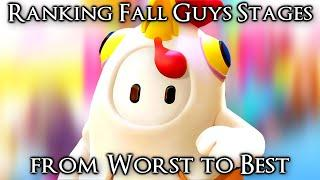 Ranking Every Fall Guys Stage from Worst to Best