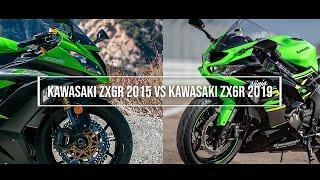 KAWASAKI NINJA ZX6R 2016 VS KAWASAKI NINJA ZX6R 2019 TOP SPEED