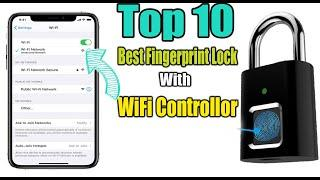 Top 10 Best Fingerprint ,Biometric Lock Control With WiFi - Home And Door Lock - Product Review
