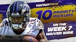 Top 10 Waiver Wire Pickups for Week 7 (2021 Fantasy Football)
