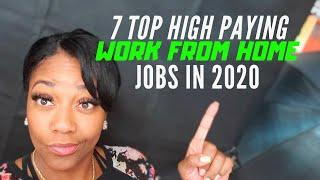 Work From Home: 7 Top High Paying Jobs You can do in Between the 9-5 (2020)