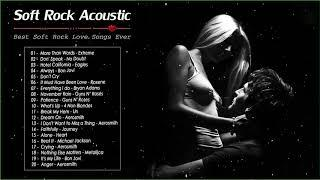 Romantic Acoustic Rock Love Songs Playlist - Ballad Acoustic Rock Cover Of Popular Songs Nonstop