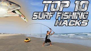 New Top 10 Surf Fishing Tips 2020 | Catch More Fish From the Beach