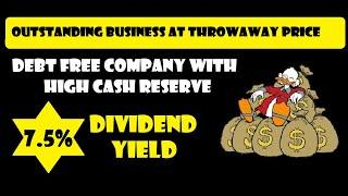 Small Cap High Dividend Stock to Buy In Market Correction || 7.5% Dividend Yield
