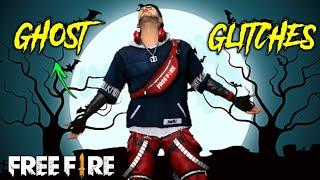 Top Ghost Glitches In Free Fire | Ghost Glitches That Really Exists In Free Fire |