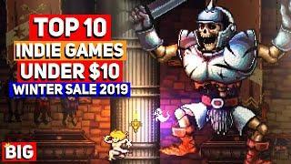 Top 10 Indie Games Under $10 - Steam Winter Sale 2019