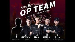 TOP 9 / Team OP! ft: Benny & Rush / ROV,  傳說對決, Liên Quân Mobile, AOV, 펜타스톰k