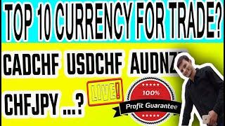 (LIVE) Analysis   Top 10 Forex Currency Pairs To Trade This Week   Forex Trading For Beginners