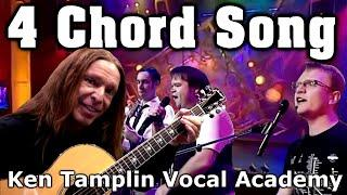 Vocal Coach Reacts - Axis Of Awesome - 4 Chord Song - Ken Tamplin Vocal Academy
