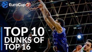 7DAYS EuroCup, Top 10 Dunks of Top 16!
