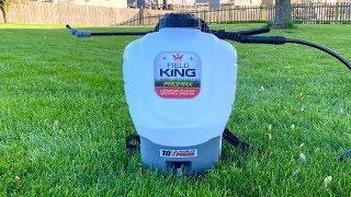 Field King Battery Backpack Sprayer Review and First Impressions