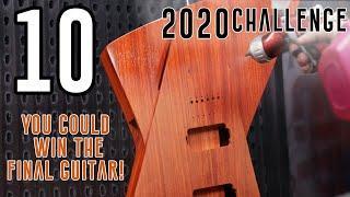 10) Terror & Joy! - I Build a UNIQUE Crowd Designed Hollow Multi-Scale Guitar in 20 hours!